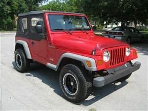 Buy Used 1997 Jeep Wrangler TJ 4 Cylinder Manual Soft Top