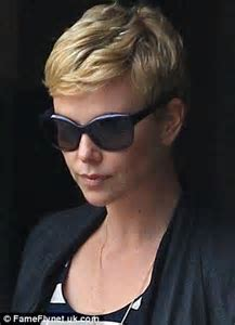 Charlize Theron emulates the '60s style of Mia Farrow with