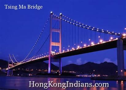Bridge Tsing Ma Bridges Kantri Papa Pm