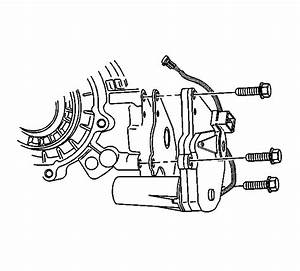 Where Is The Encoder Shift Motor Located  On My 2003 Chevy