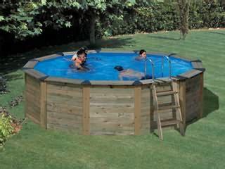 piscine bois en solde