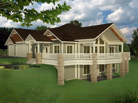 Traditional Style House Plan 85235 with 5 Bed 4 Bath 3