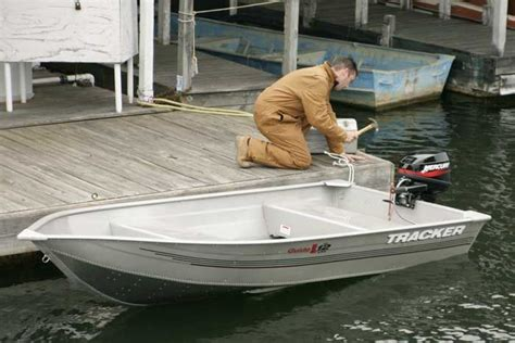 Tracker Utility Boats by Research Tracker Boats Guide V12 Riveted V Utility