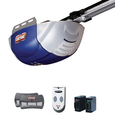 genie garage door opener programming genie quietlift 800 1 2 hp dc motor belt drive garage door