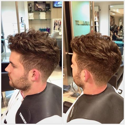 hairstyle for curly dry hair fade haircut