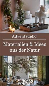 Adventsdeko Aus Naturmaterialien : adventsdeko sch nes aus der natur sch ne adventsdeko ~ Watch28wear.com Haus und Dekorationen