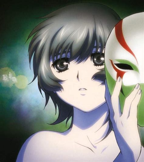 mask character female anime amino