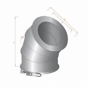 Tubage Inox Double Paroi Prix : coude 45 tubage double paroi diam 300 a bas prix ~ Premium-room.com Idées de Décoration
