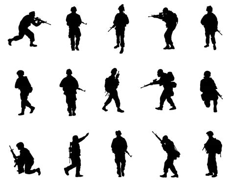 Download free svg vectors for commercial use. The best free Military silhouette images. Download from ...
