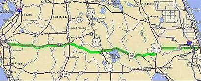 Florida Trail Cracker Road Map Keys Trip