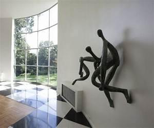 Sculpture Metal Murale : sculpture moderne 30 id es de d co pour votre int rieur ~ Teatrodelosmanantiales.com Idées de Décoration
