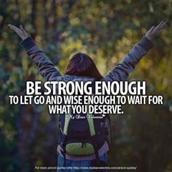 Be Strong Enough Quote