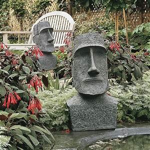 Design, Toscano, Easter, Island, Moai, Monolith, Garden, Statue