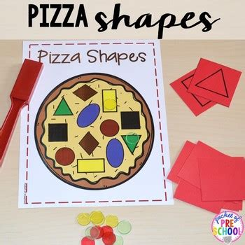 pizza math and literacy centers for preschool pre k and 361 | original 2190672 4