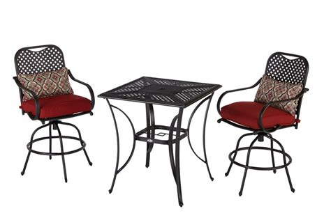 hton bay fall river outdoor high dining set in