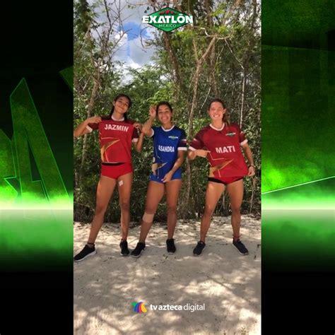 Exatlón Mx - ¡Jazmín, Casandra Ascencio y Mati Álvarez...