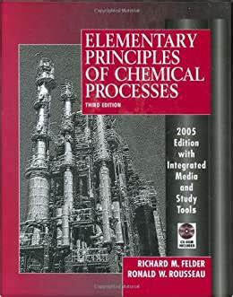 elementary principles  chemical processes richard