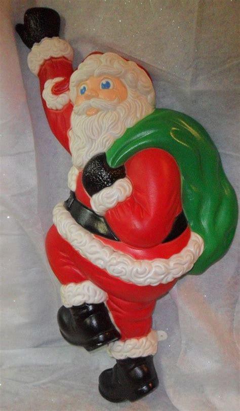 climbing santa grand venture  christmas blow mold