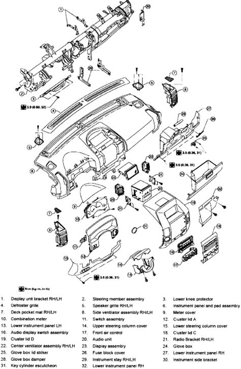 repair voice data communications 2006 nissan pathfinder engine control heater coil 2010 nissan pathfinder how to instail repair guides interior instrument panel