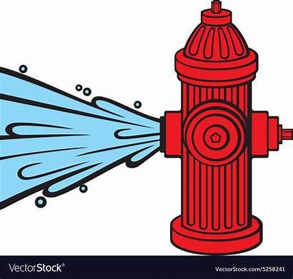 Hydrant Fire Vector Vectorstock Royalty