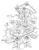 Murray Mower Carburetor Diagram by Murray 387002x92a Lawn Tractor 2004 Parts Diagrams