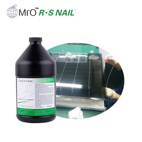 sample tft glass thinning process epoxy edge banding glass liquid acrylic uv glue adhesive