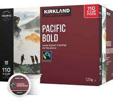 Learn the good & bad for 250,000+ products. Kirkland Signature Pacific bold Fair Trade 110 K-Cups - GP2U