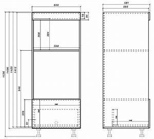 Schrank Für Mikrowelle : hochschrank f r backofen u mikrowelle 60cm korpus und ~ Michelbontemps.com Haus und Dekorationen