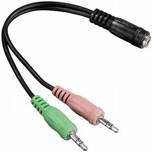 3 5mm Klinke Adapter : hama audio adapterkabel klinke buchse 4polig auf 2x ~ Jslefanu.com Haus und Dekorationen