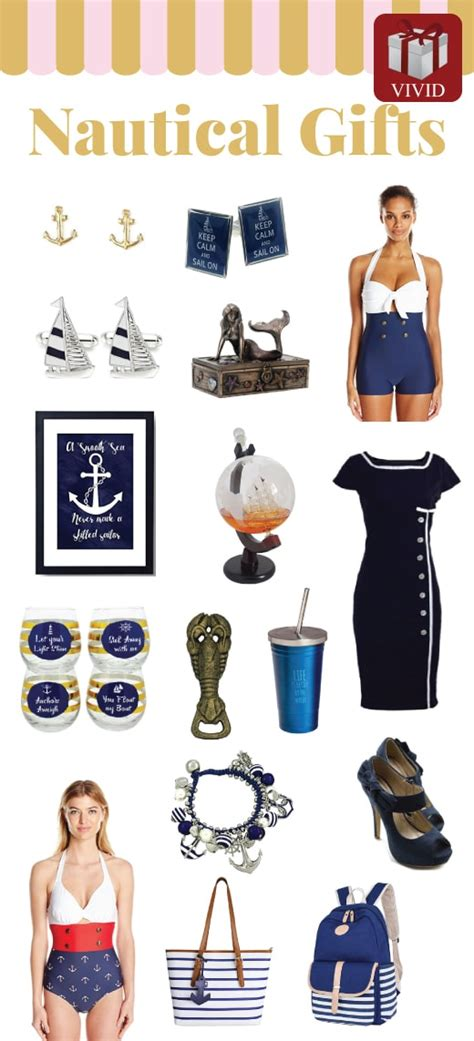 17 Best Nautical Theme Gifts  Vivid's Gift Ideas
