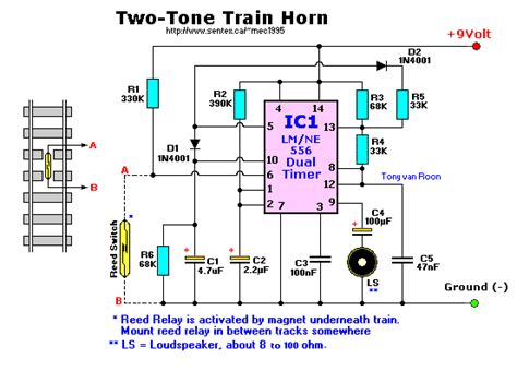Train Horn Two Tone