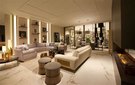 New Sofa Designs by Fendi Casa S New La Flagship Is Ultra Luxury At Its Finest