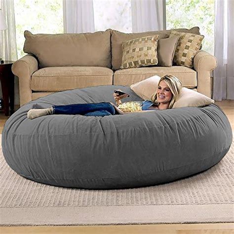 jaxx  foot cocoon large bean bag chair  adults