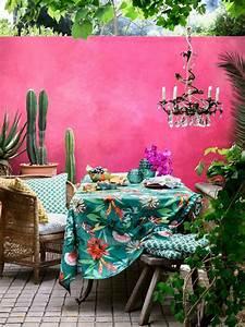 deco exterieure osez le mur jardin peint en couleur With choix couleur peinture mur 1 bien choisir sa peinture de facade leroy merlin