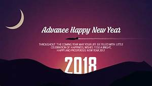 Happy New Year Images In Advance Wish You A Very Happy