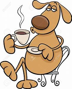 Happy Drinking Coffee Clipart (72+)