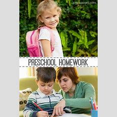 Homework For Prek And Kindergarten