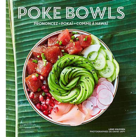 librairie cuisine livre poke bowl lene knudsen marabout cuisine