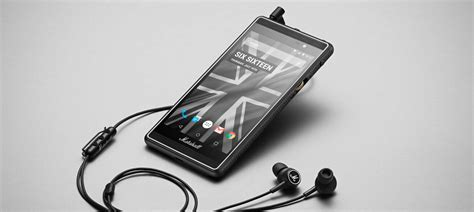 marshall created an audiophile smartphone