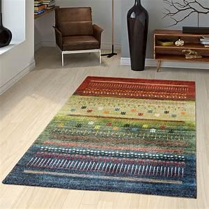 Teppich Braun Grün : teppich loribaft nomaden gabbeh teppich mit klassischen motiven in rot gr n blau moderne teppiche ~ Whattoseeinmadrid.com Haus und Dekorationen
