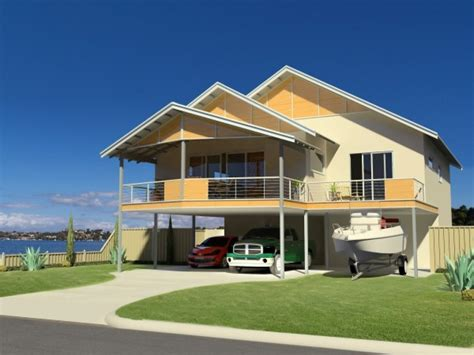 modern double storey house plans small double storey house plan beach house kit homes