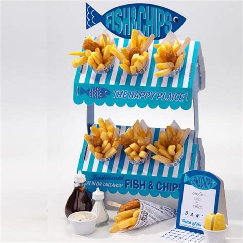 fish  chip stand  blossom