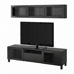 Tv Lowboard Ikea : best tv storage combination glass doors lappviken ~ A.2002-acura-tl-radio.info Haus und Dekorationen