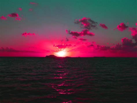 puesta de sol  tumblr