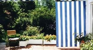 Sichtschutz Stoff Terrasse : sichtschutz terrasse mit paravent sonnensegeln u balkonverkleidung sonnensegel markise ~ Markanthonyermac.com Haus und Dekorationen