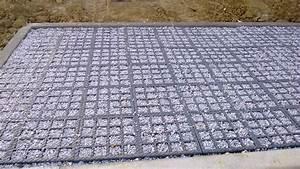 Gravier A Beton : stationnement innovant et durable pompertuzat ~ Premium-room.com Idées de Décoration