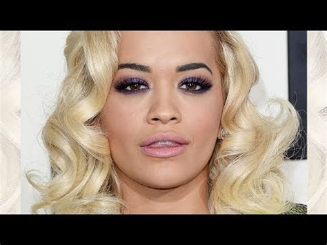 rita ora grammys  inspired makeup tutorial youtube