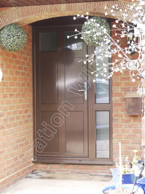 luxury aluminium front doors gallery   images duration windows