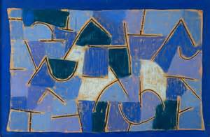 tapete modern paul klee blaue nacht als kunst tapete bestellen tapeterie