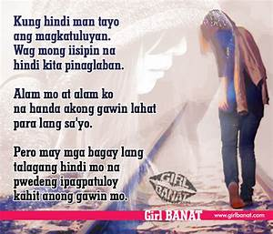 Quotes On Love Hurts Tagalog